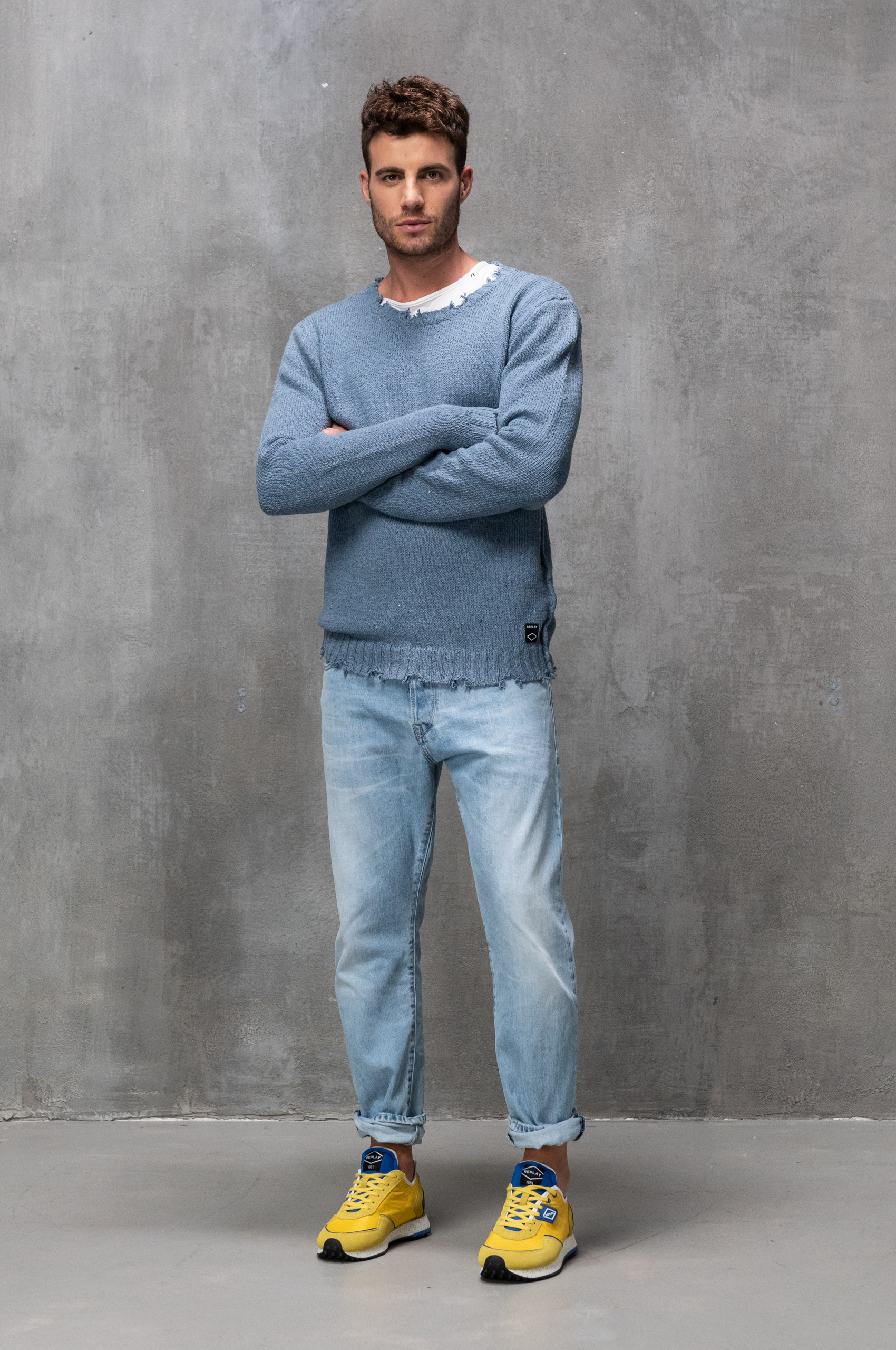 Tapered Pants denim fit guide men